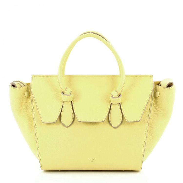 367825829c8f Céline Tie Knot Tote Grainy Leather Mini Leather - LXRandCo - Pre ...