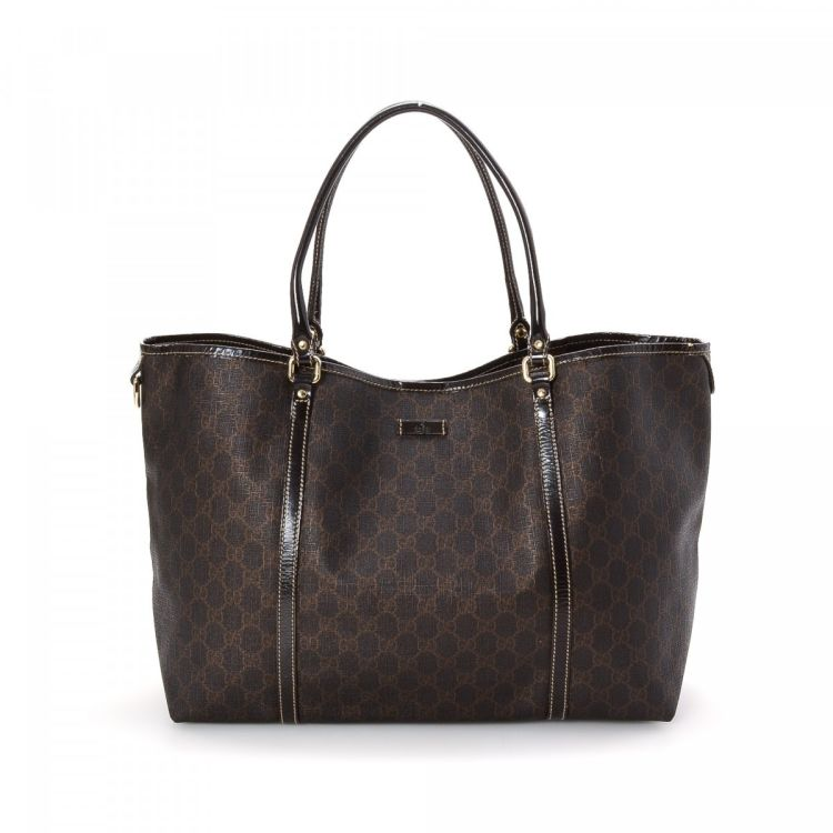 d86dee781c4 LXRandCo guarantees the authenticity of this vintage Gucci Bag tote.  Crafted in gg supreme coated canvas