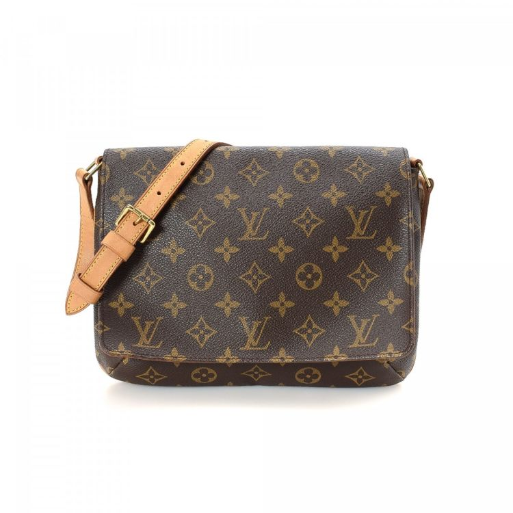 9e006ce21 LXRandCo guarantees this is an authentic vintage Louis Vuitton Musette Tango  Short Strap shoulder bag. Crafted in monogram coated canvas, this  sophisticated ...