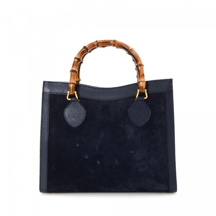 62292ded49b The authenticity of this vintage Gucci tote is guaranteed by LXRandCo.  Crafted in bamboo suede