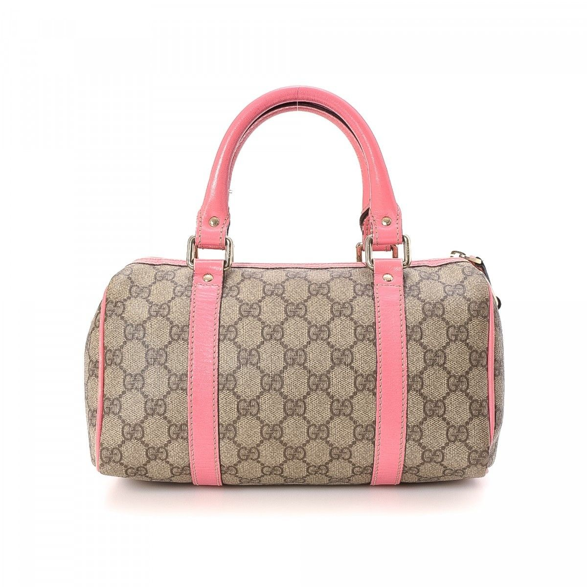 1e7a925e70f Gucci GG Supreme Joy Boston Bag. The authenticity of this vintage Gucci Joy  Boston Bag travel bag is guaranteed by LXRandCo.