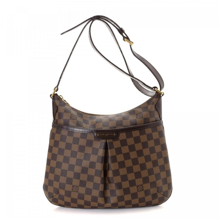 bf6866d9c240 LXRandCo guarantees the authenticity of this vintage Louis Vuitton  Bloomsbury PM messenger   crossbody bag. This exquisite pocketbook was  crafted in damier ...