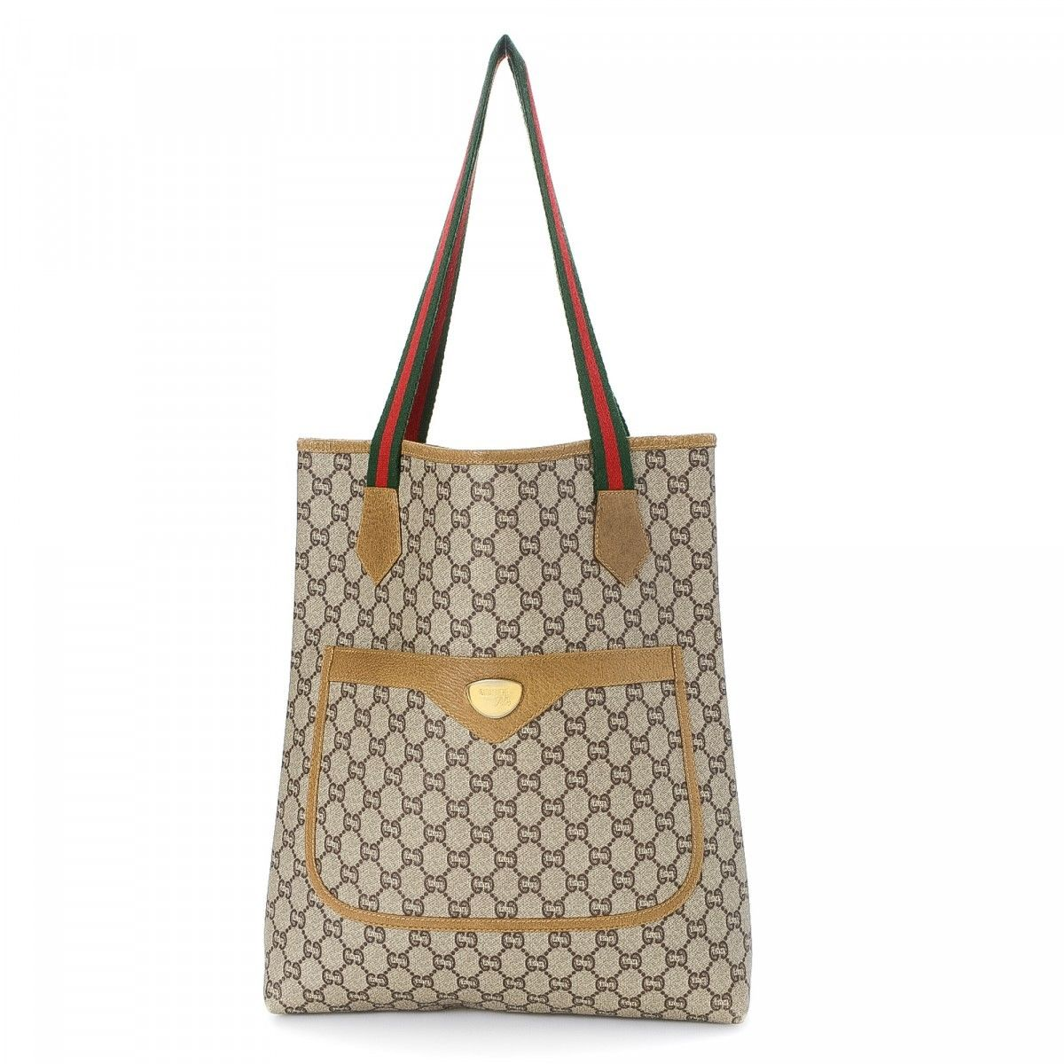 7b2f8b988b790d Gucci Coated Canvas Gg Plus Tote Brown | Stanford Center for ...