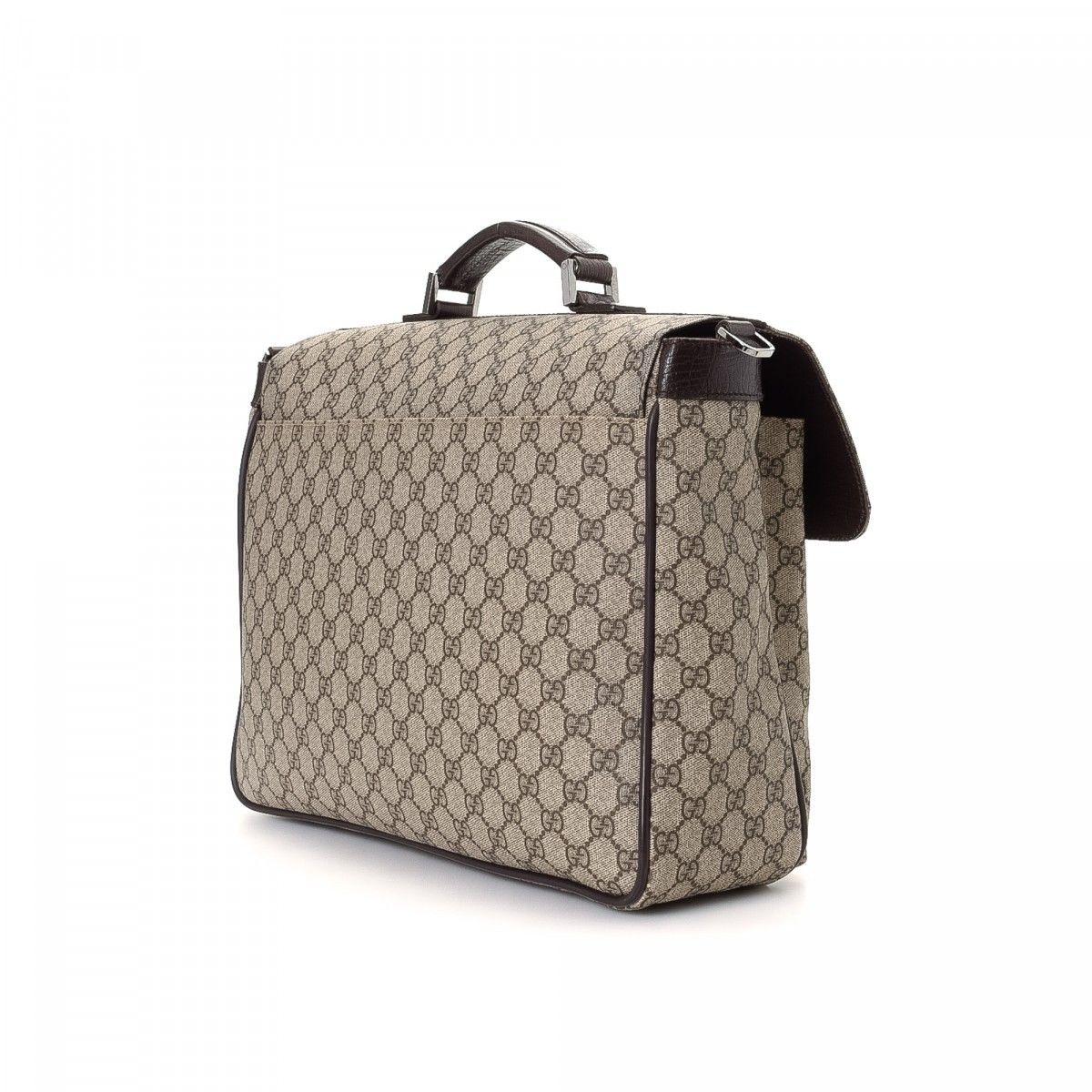 319e5c5a644c Gucci GG Supreme Business Bag. The authenticity of this vintage Gucci  Business Bag briefcase is guaranteed by LXRandCo.