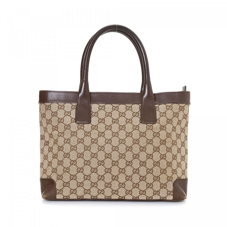 65616014022 Gucci GG Canvas Tote. LXRandCo guarantees this is an authentic vintage ...
