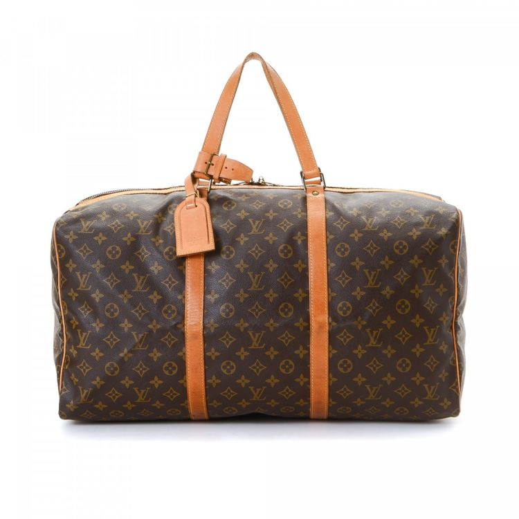 louis vuitton luggage carry on. the authenticity of this vintage louis vuitton sac souple 55 travel bag is guaranteed by lxrandco. crafted in monogram coated canvas, chic carry on luggage m