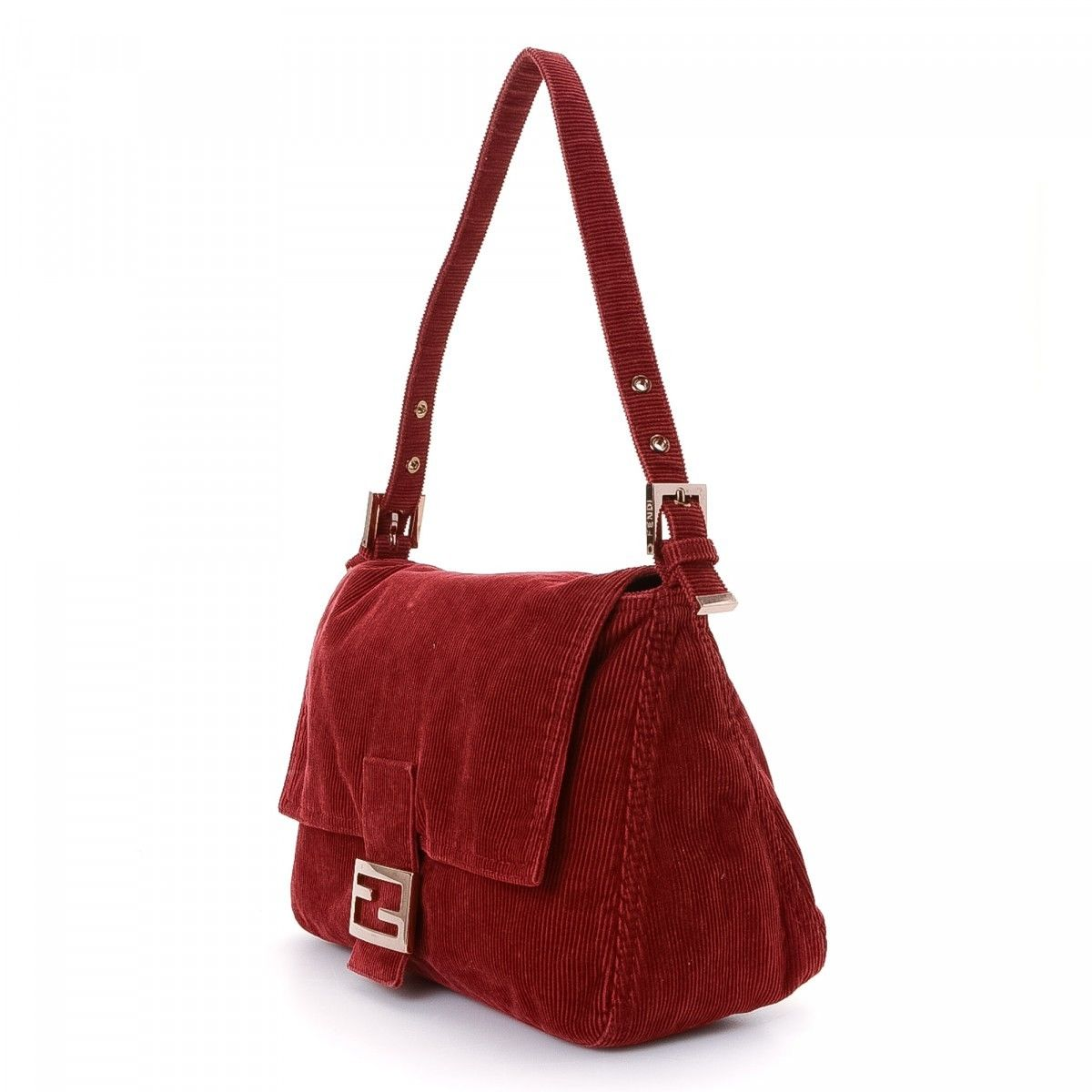 5b7f9f07db50 Fendi Mamma Baguette. LXRandCo guarantees the authenticity of this vintage  Fendi Mamma Baguette shoulder bag. Crafted in corduroy ...