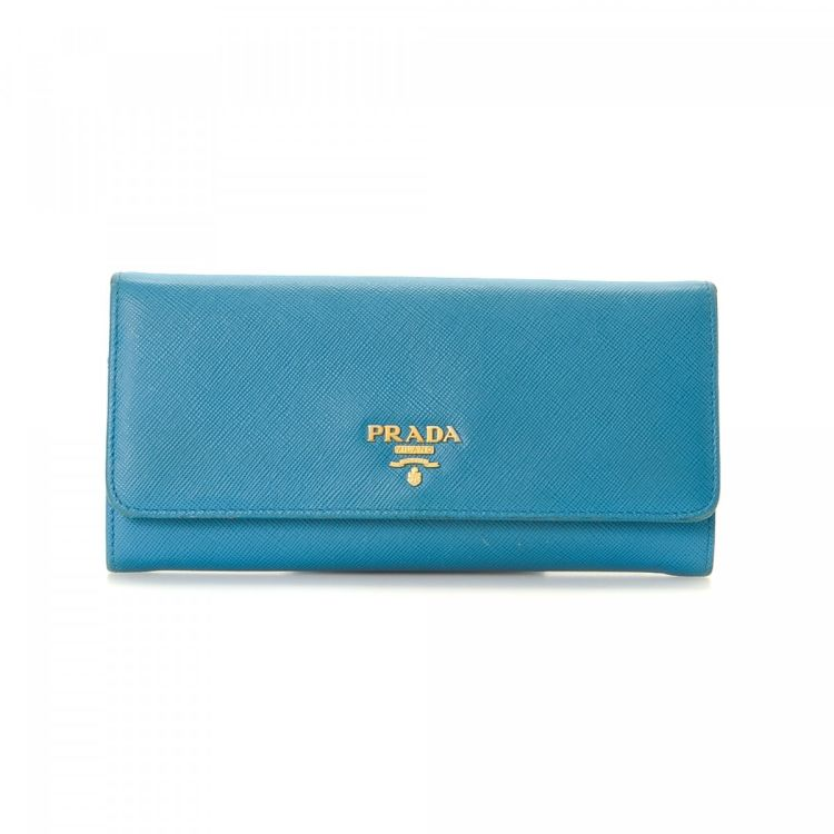 8f341fd1bc60 where to buy prada saffiano long wallet saffiano leather lxrandco pre owned  luxury vintage 790e5 a7228