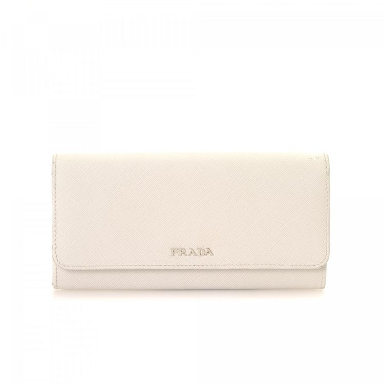 fa7f2b6d0cf3 ... store lxrandco guarantees the authenticity of this vintage prada long  wallet. this sophisticated wallet was