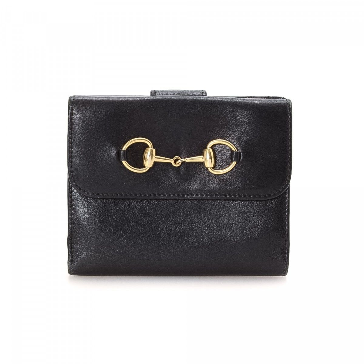 Gucci Horsebit Wallet Leather Lxrandco Pre Owned Luxury Vine