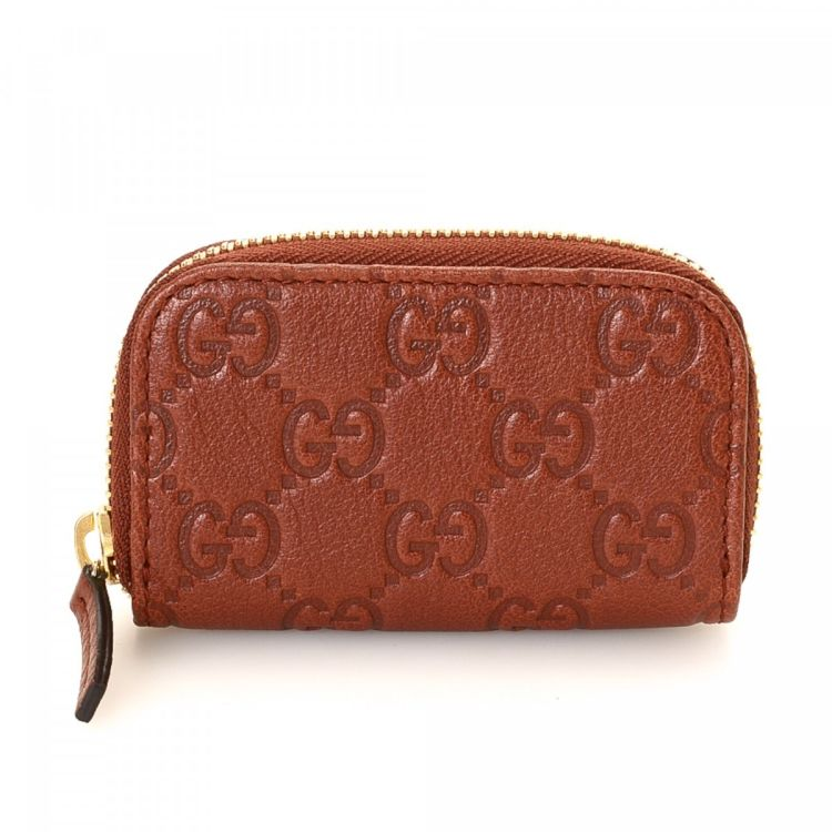 91be01de7ee Gucci Guccissima Coin Purse Guccissima Leather - LXRandCo - Pre ...