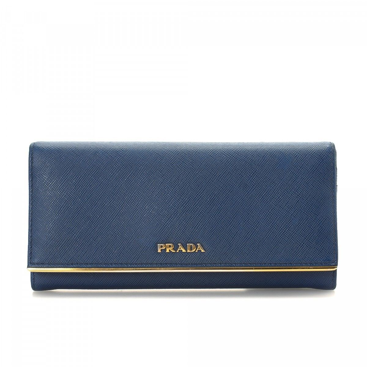 b975be344e0f Prada Saffiano Continental Wallet Saffiano Leather - LXRandCo - Pre ...