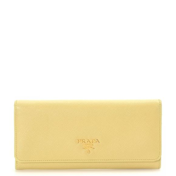3fdc946e87f8eb new arrivals prada long wallets beige yellow 20ded f5b50