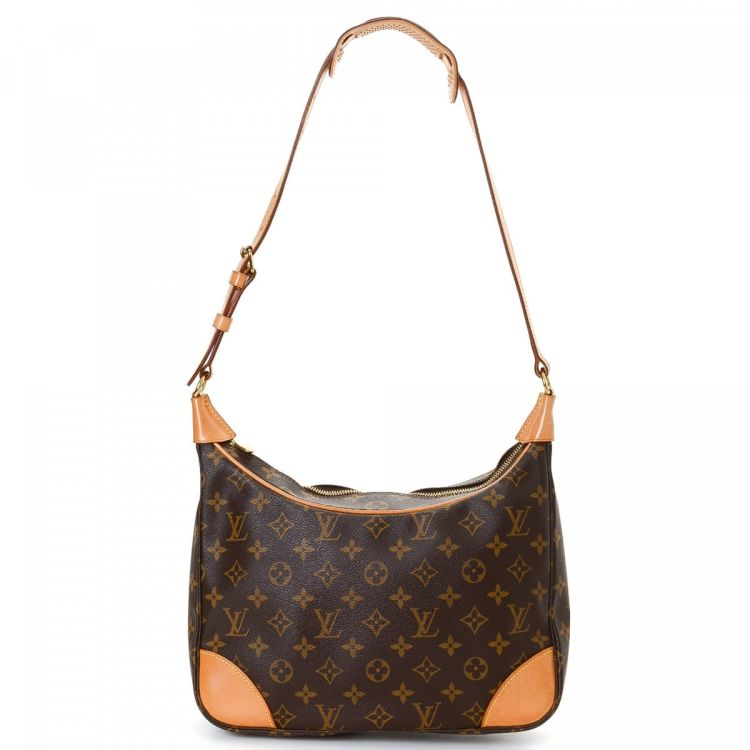 5fad89cbcfd3 LXRandCo guarantees this is an authentic vintage Louis Vuitton Boulogne 30  shoulder bag. This classic shoulder bag was crafted in monogram coated  canvas in ...
