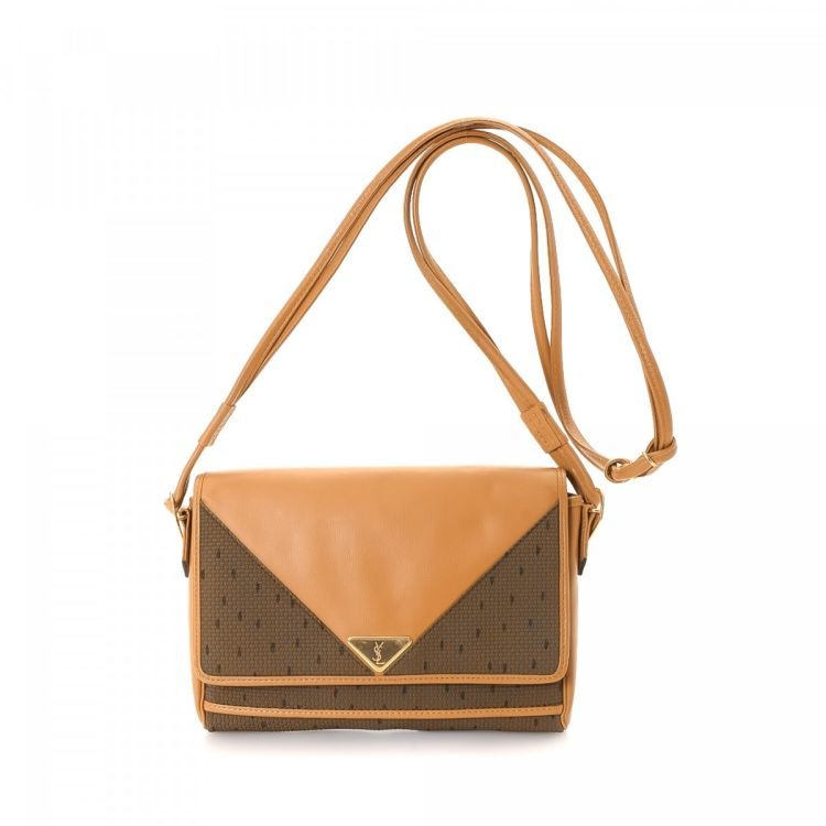 2853b969701 The authenticity of this vintage Yves Saint Laurent Crossbody Bag messenger    crossbody bag is guaranteed by LXRandCo. Crafted in raffia