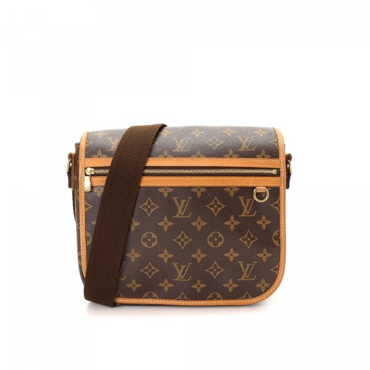 ... Louis Vuitton Messenger Bosphore PM messenger   crossbody bag is  guaranteed by LXRandCo. This iconic crossbody was crafted in monogram  coated canvas in ... 4dbdbe396d84c