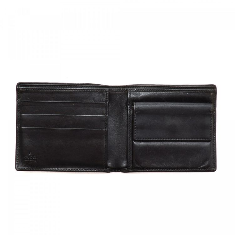 8f84096501e LXRandCo guarantees the authenticity of this vintage Gucci wallet. This  exquisite wallet was crafted in leather in black. Due to the vintage nature  of this ...