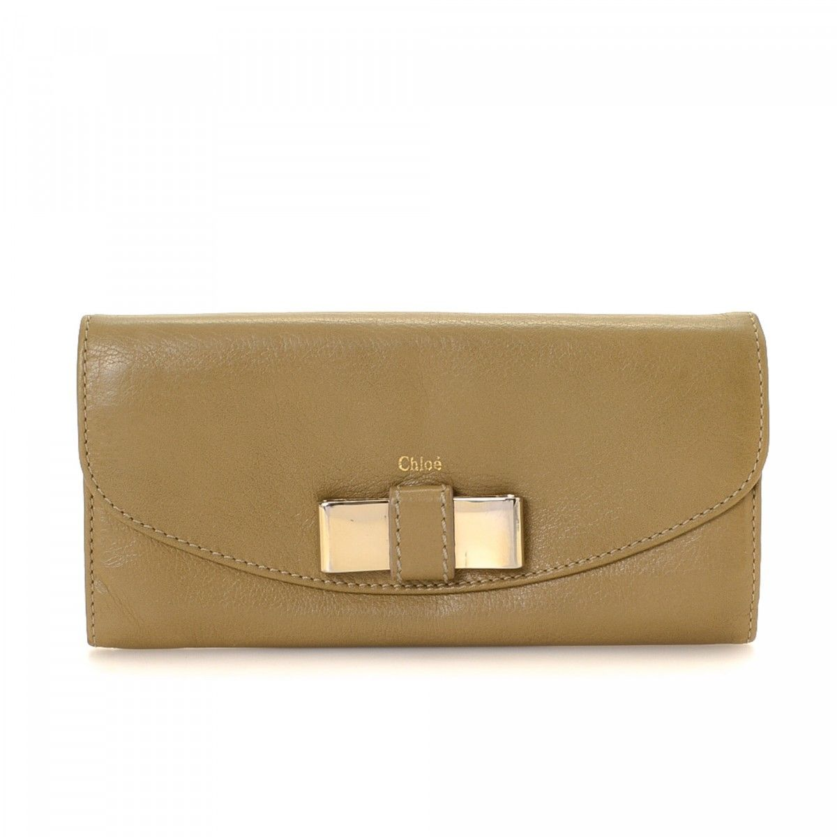 Chloé | Lily stamped-leather wallet | NET-A-PORTER.COM