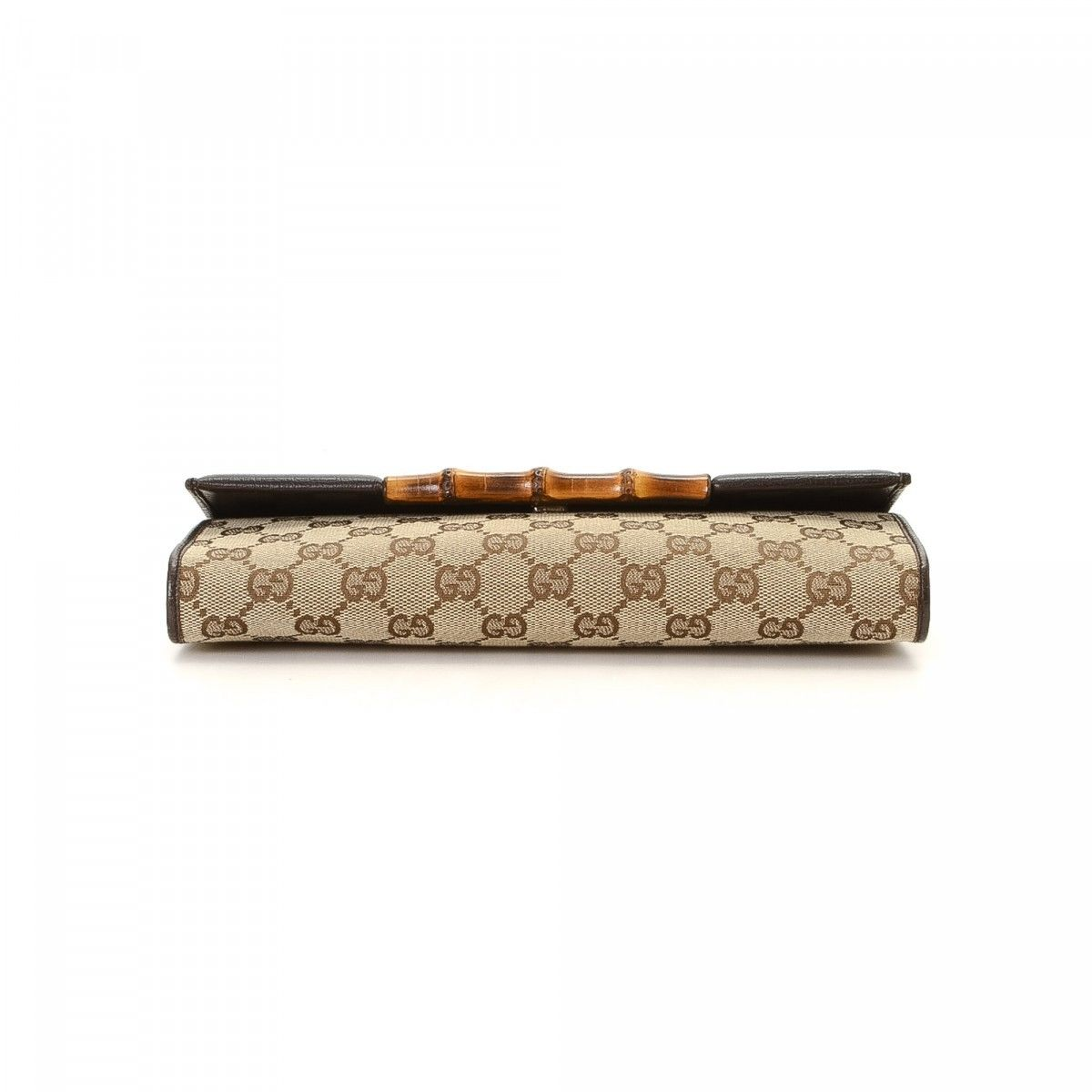833eac83c9e Bamboo Clutch With Strap. The authenticity of this vintage Gucci Bamboo  With Strap clutch is guaranteed by LXRandCo. This elegant evening bag in  beautiful ...