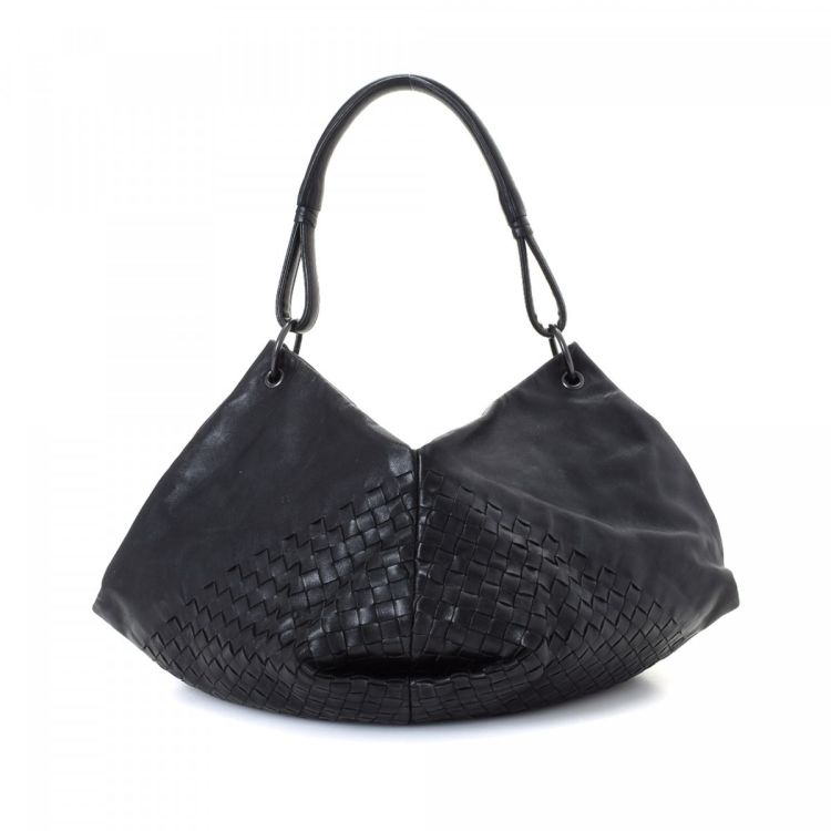 96dab40a57 Bottega Veneta Aquilone Intrecciato Fortune Cookie Hobo Bag ...