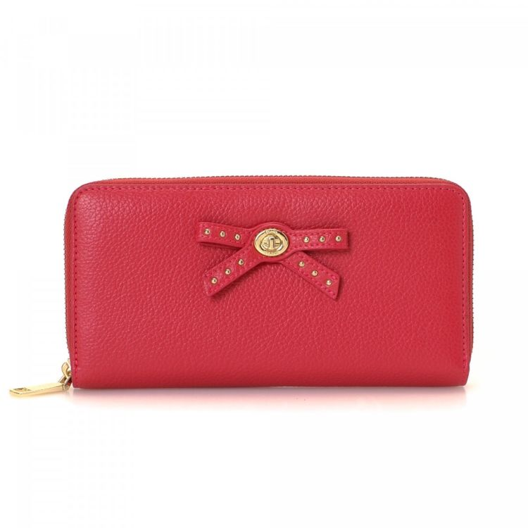 LXRandCo guarantees this is an authentic vintage Coach Zip Around wallet.  Crafted in leather 7f5b7f9931807
