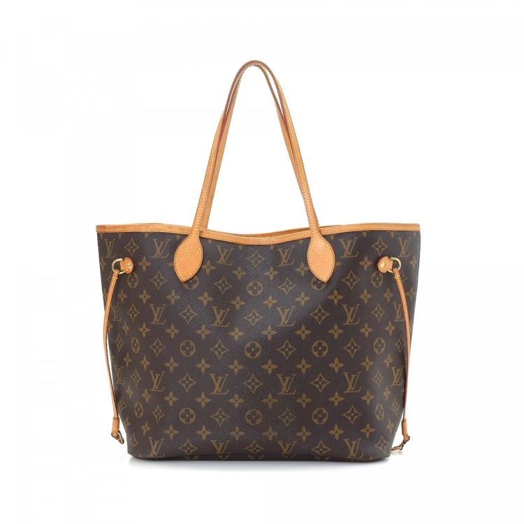 louis vuitton neverfull mm monogram. The Authenticity Of This Vintage Louis Vuitton Neverfull MM Tote Is Guaranteed By LXRandCo. Classic Work Bag Was Crafted In Monogram Coated Canvas Mm R