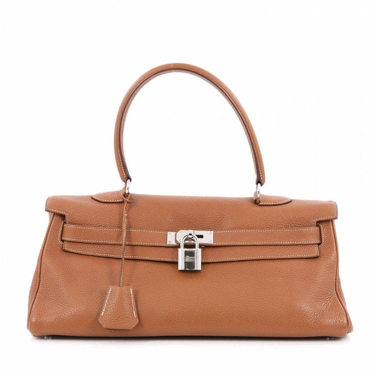 89bc4f2acc08 ... greece hermès shoulder kelly 42 gold clemence phw clemence leather  lxrandco pre owned luxury vintage fe050