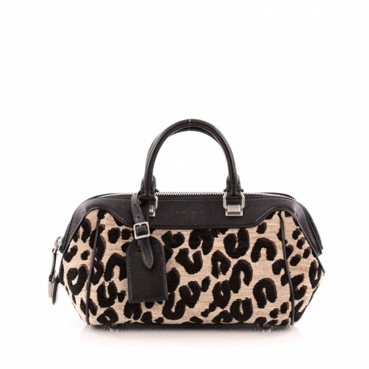 4a88dc11a1fe Louis Vuitton Baby Bag Limited Edition Stephen Sprouse Leopard Chenille