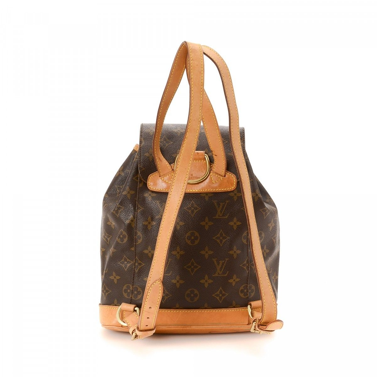 2908f892be1 Louis Vuitton Montsouris MM Monogram Coated Canvas - LXRandCo - Pre-Owned  Luxury Vintage
