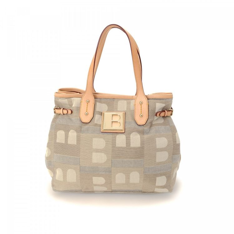 0f18e1c61 LXRandCo guarantees the authenticity of this vintage Bally handbag. This  lovely bag was crafted in canvas in multi color. Very good condition* (A)