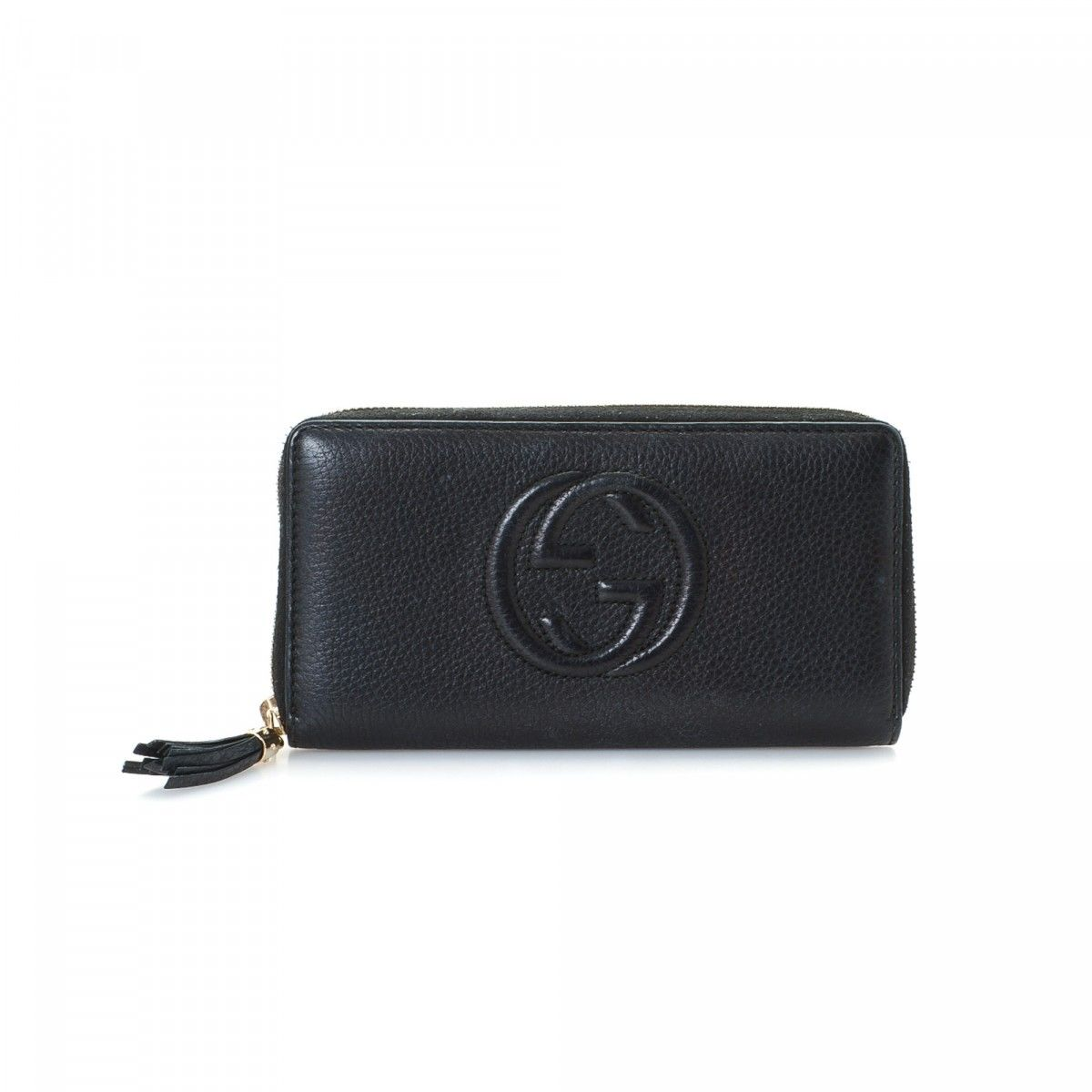 00c206a007d Gucci Soho Wallet Soho Leather - LXRandCo - Pre-Owned Luxury Vintage