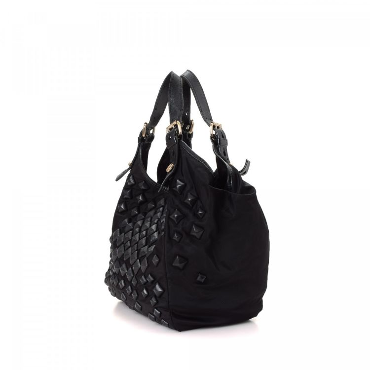 67940077db Givenchy Studded Hobo Bag Nylon - LXRandCo - Pre-Owned Luxury Vintage