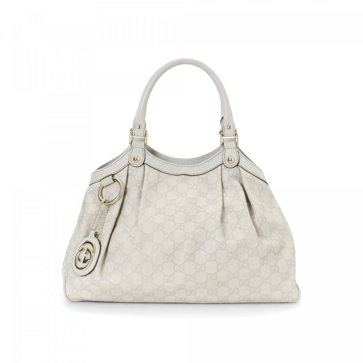 581774a482c6 The authenticity of this vintage Gucci Sukey Tote Bag handbag is guaranteed  by LXRandCo. Crafted in guccissima leather, this luxurious handbag comes in  ...