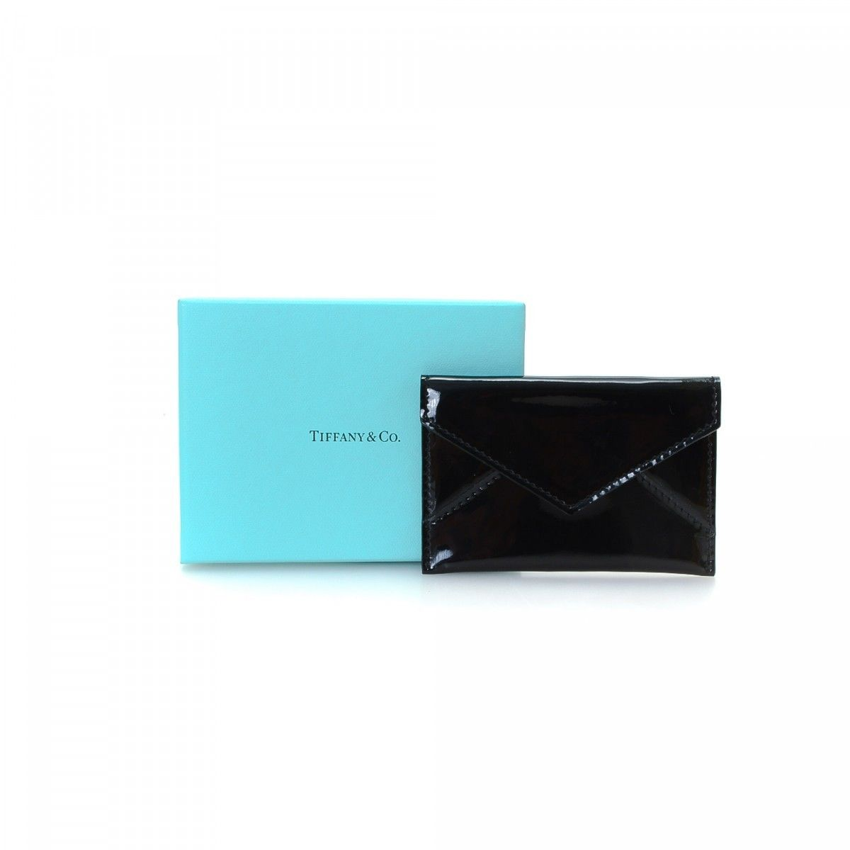 Tiffany Card Holder Patent leather - LXRandCo - Pre-Owned Luxury Vintage