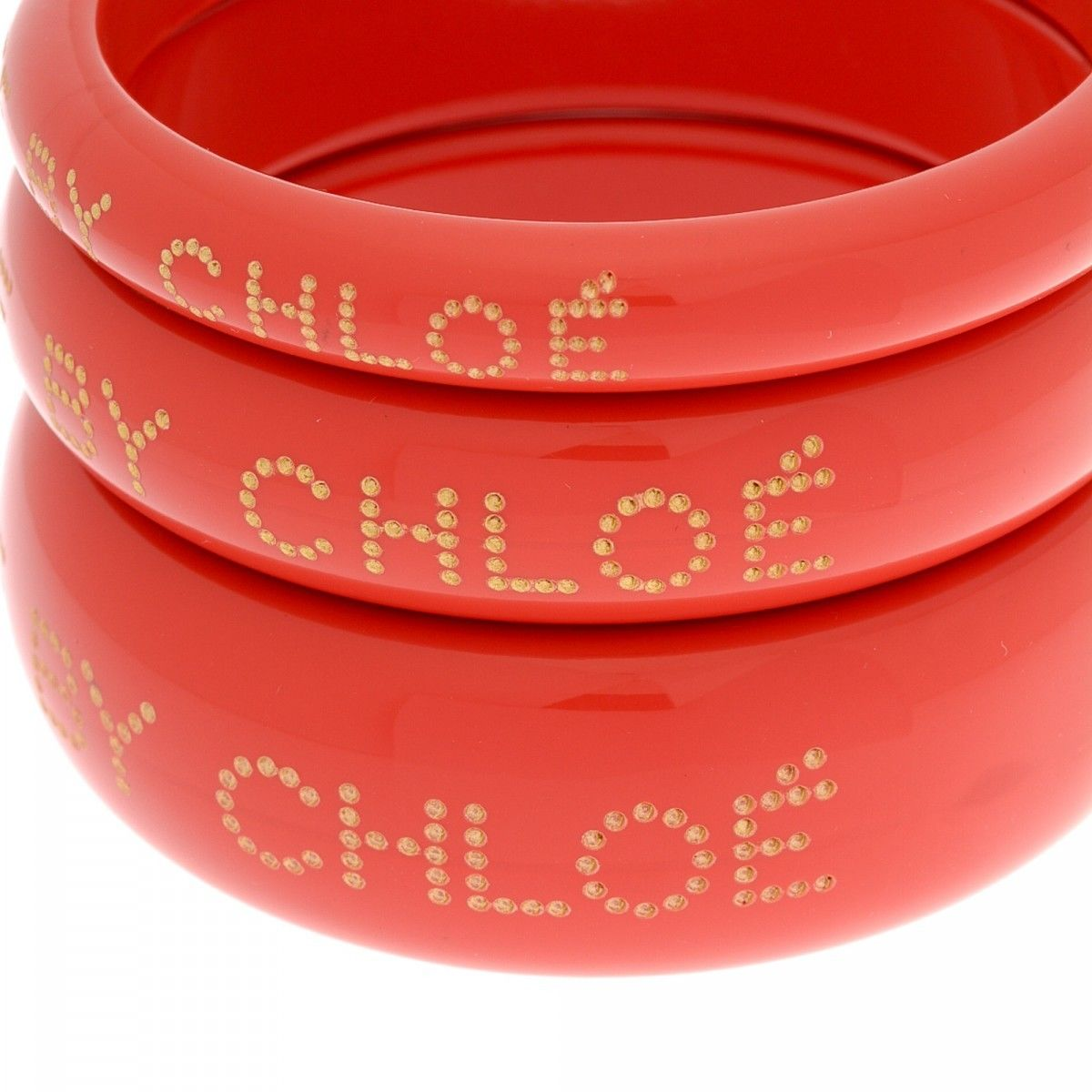 e3b22211d97d1 See by Chloé Set of 3 Bracelets 21cm Resin - LXRandCo - Pre-Owned ...
