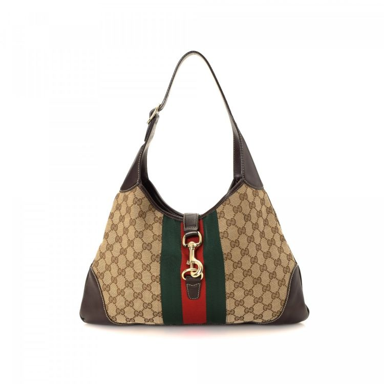 9d37c615fe7 LXRandCo guarantees this is an authentic vintage Gucci Hobo Bag shoulder bag.  Crafted in gg canvas