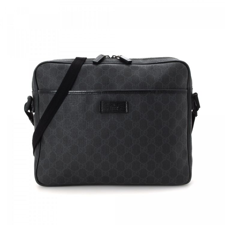 6078d73a1a9d Gucci GG Supreme Messenger Bag GG Supreme Coated Canvas - LXRandCo ...