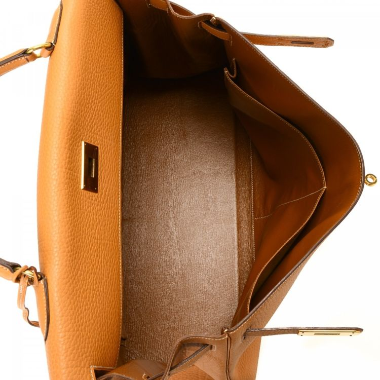 b5a82d1e9f15 ... greece lxrandco guarantees the authenticity of this vintage hermès  kelly 40 natural fjord ghw handbag.