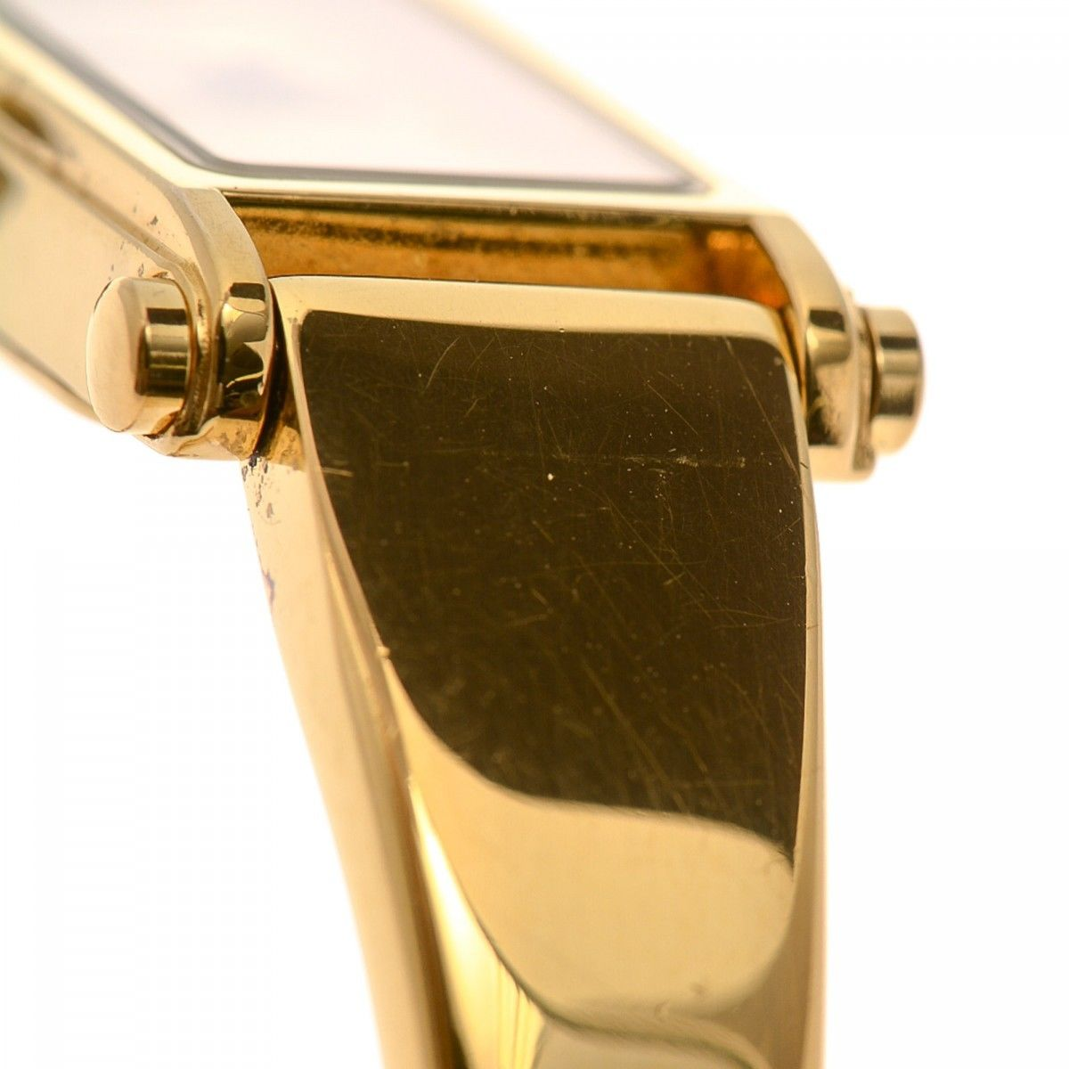 433edbc53fc Gucci 1500 Timepiece 12mm 18K Gold Plated Stainless Steel - LXRandCo ...