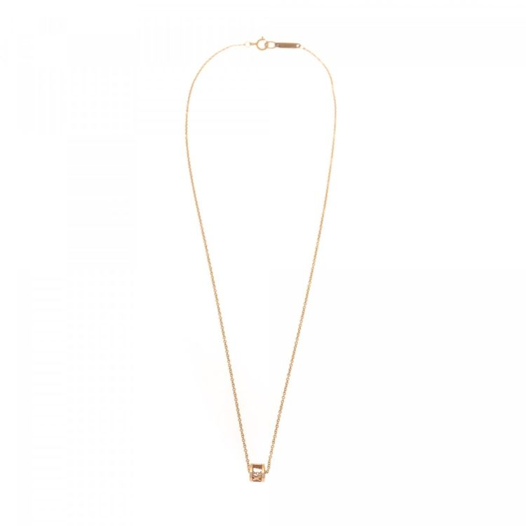 Tiffany atlas open necklace 41cm 18k gold lxrandco pre owned the authenticity of this vintage tiffany atlas open 41cm necklace is guaranteed by lxrandco crafted in 18k gold this practical pendant necklace comes in aloadofball Choice Image