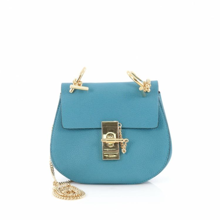 e100a33073 This product is in store at Century 21 Edition. LXRandCo guarantees this is  an authentic vintage Chloé Drew Crossbody Bag ...