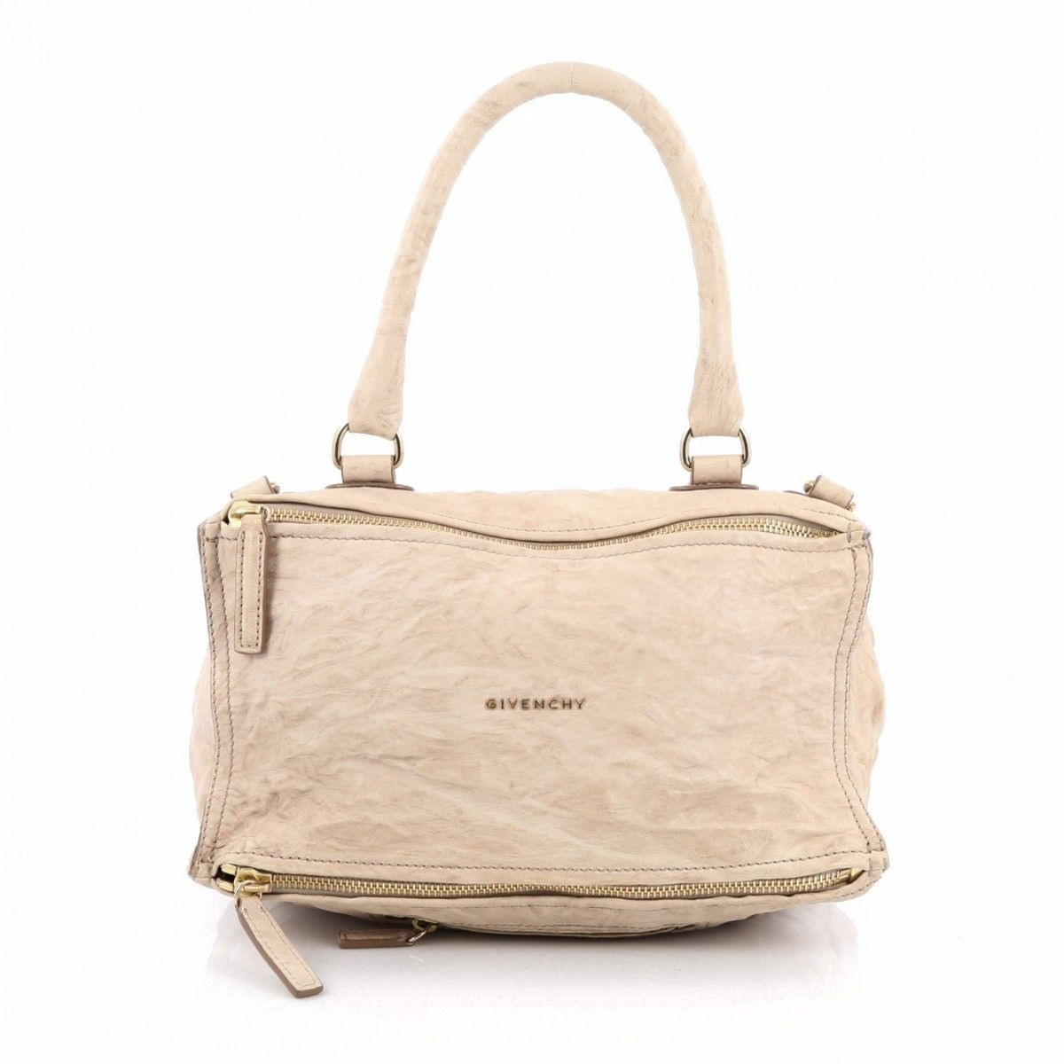 Givenchy Pre-owned - Beige Leather Handbag Pandora