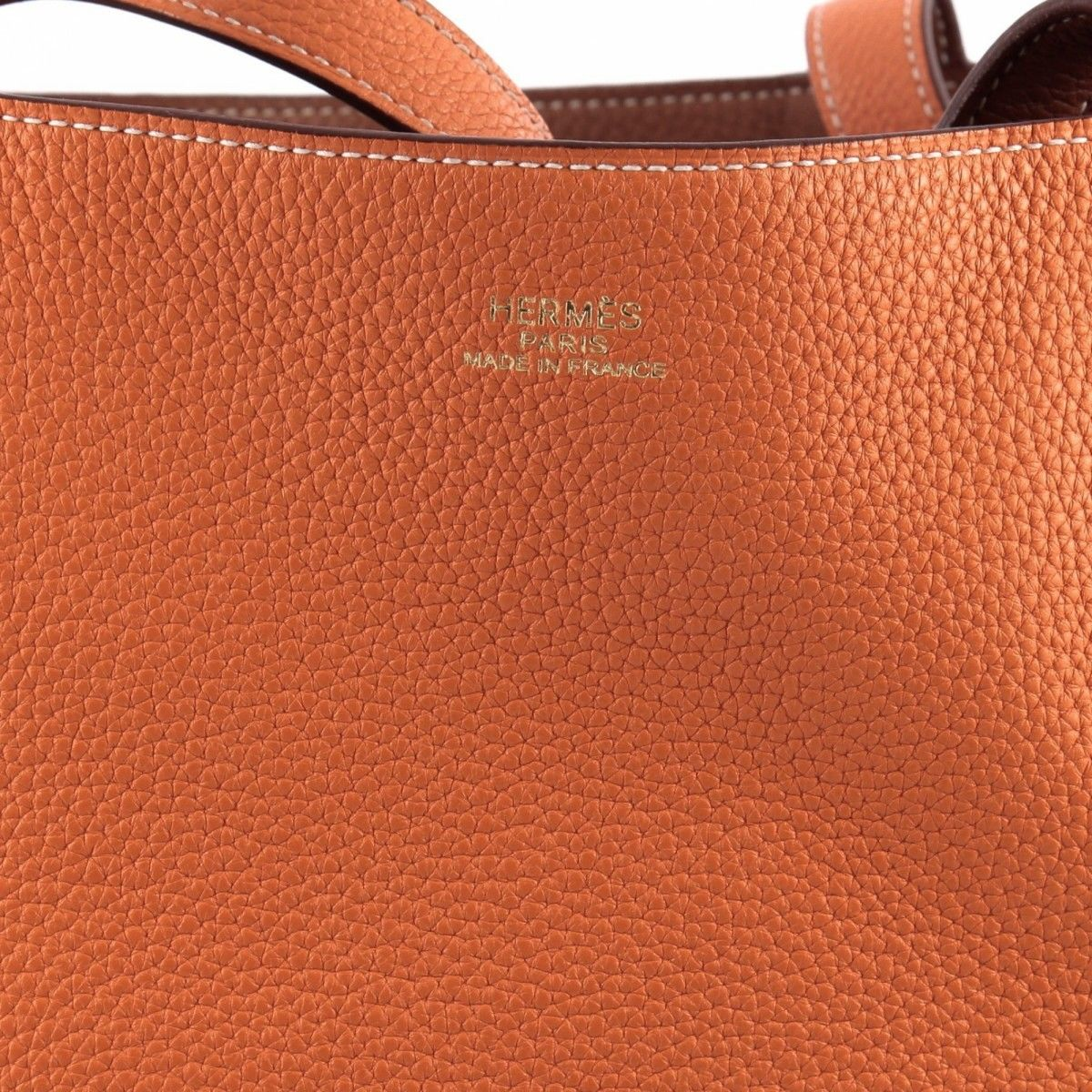 63a06afa3a8f Hermès Double Sens Tote Clemence 36 Leather - LXRandCo - Pre-Owned ...