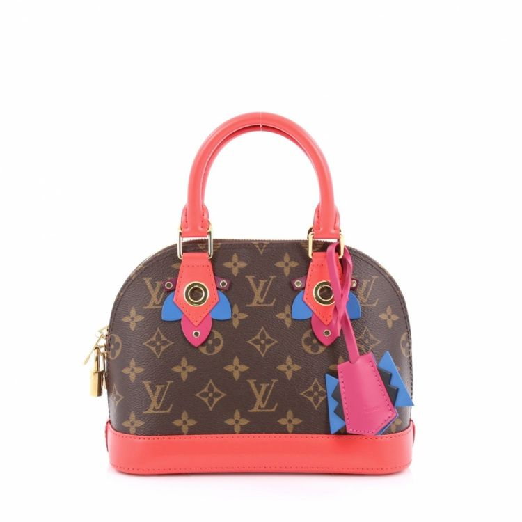 f9511da76cdd The authenticity of this vintage Louis Vuitton Alma Limited Edition Totem  Monogram Canvas BB handbag is guaranteed by LXRandCo. Chic handbag.