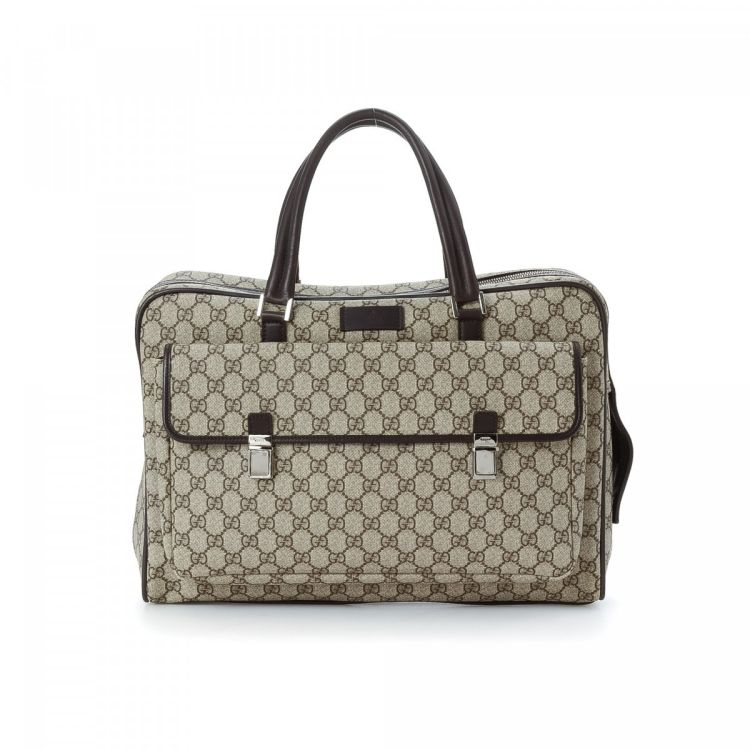 8998fb3e30de GG Supreme Business Bag. Free Shipping. This product is in store at Century  21 Edition. LXRandCo guarantees the authenticity of this vintage Gucci  Business ...