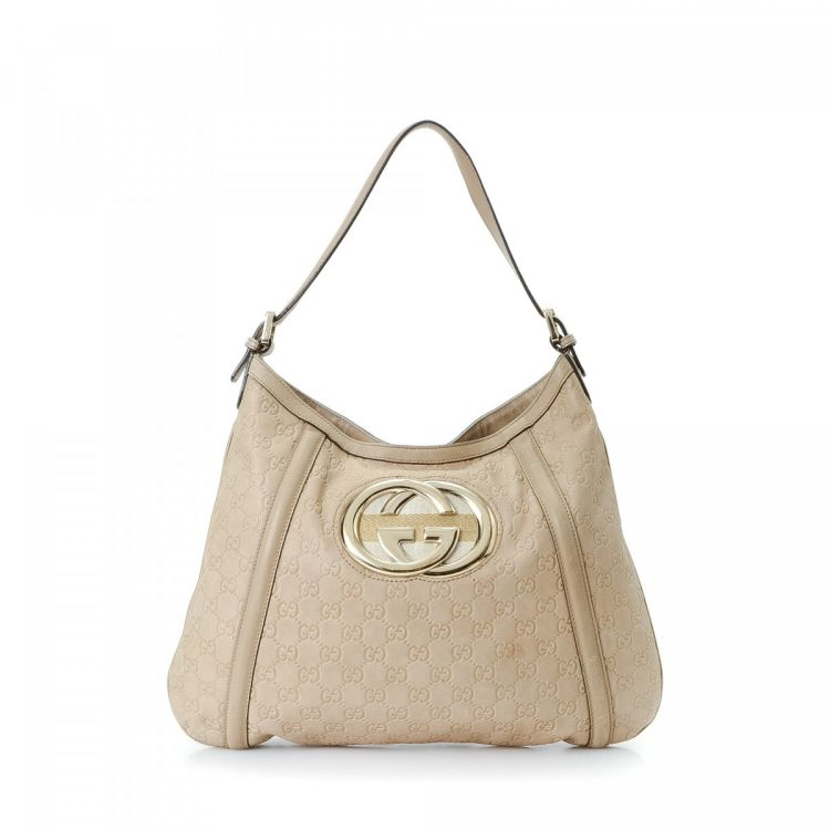86a237ce42638c The authenticity of this vintage Gucci Britt Hobo Bag shoulder bag is  guaranteed by LXRandCo. Crafted in guccissima leather, this exquisite bag  comes in ...