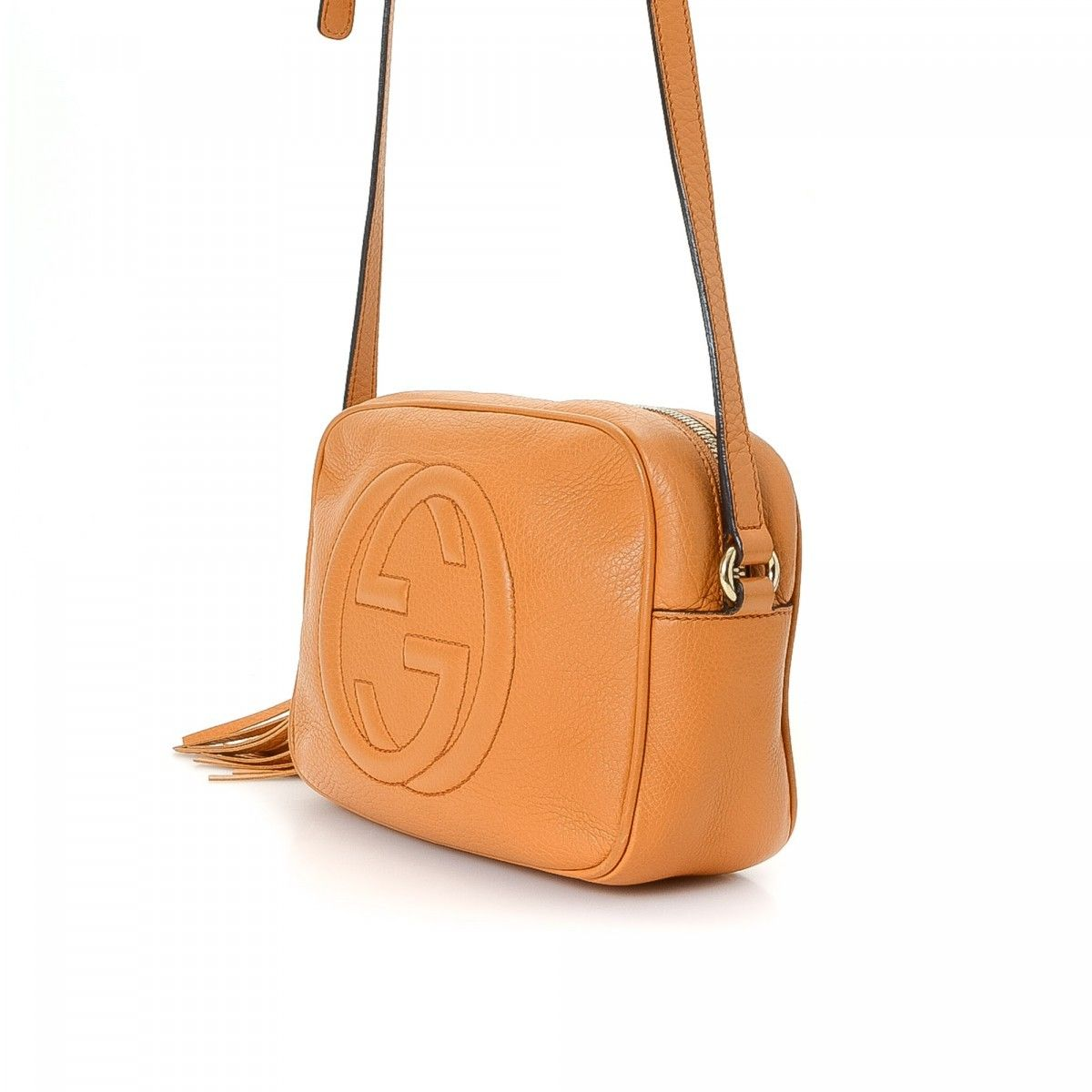 930dc0622ca Gucci Soho Disco Bag. LXRandCo guarantees the authenticity of this vintage  Gucci Disco Bag messenger ...