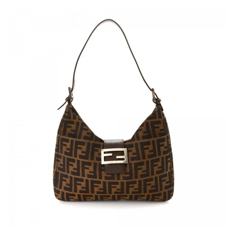 535eb85cec2b ... wholesale lxrandco guarantees the authenticity of this vintage fendi  shoulder bag. crafted in zucca canvas ...
