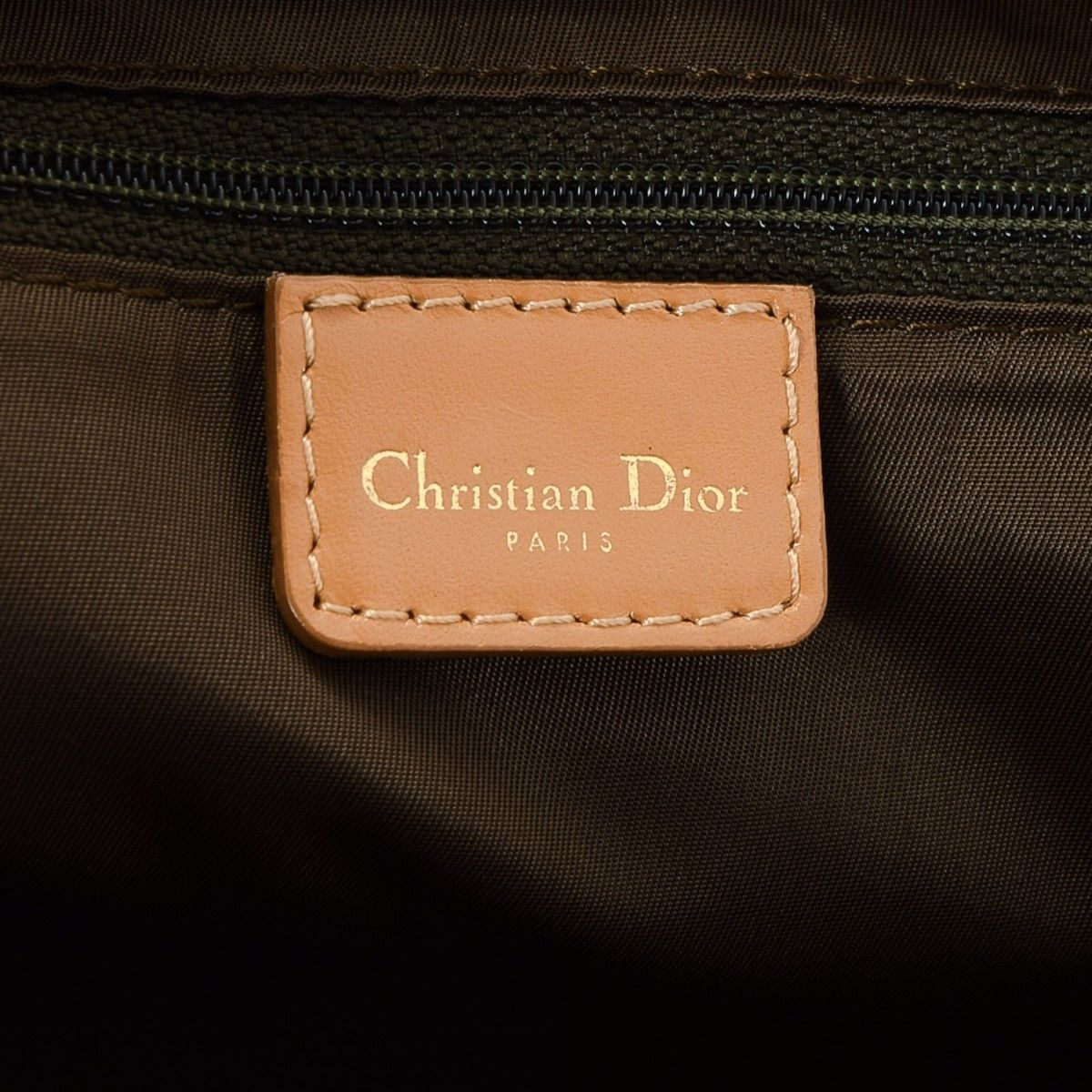 181d77b9a Dior Mini Double Saddle bag Trotter Canvas - LXRandCo - Pre-Owned ...