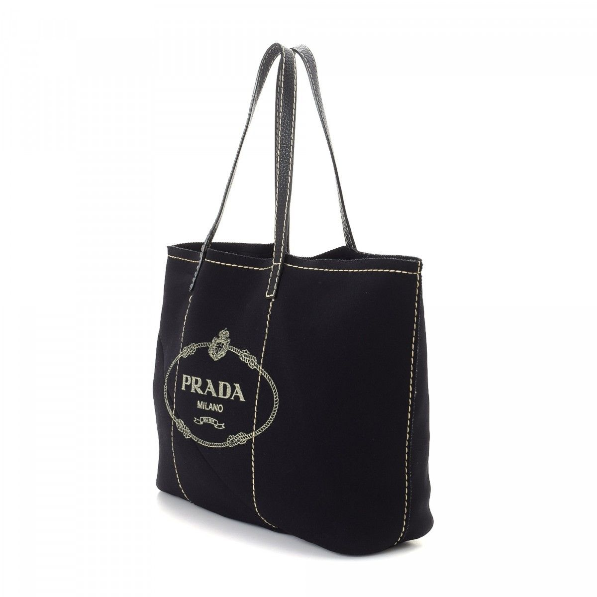 939efd4ac44d Prada Neoprene Tote Bag Neoprene - LXRandCo - Pre-Owned Luxury Vintage